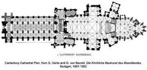 Canterbury Cathedral Floor Plan by Canterbury Cathedral