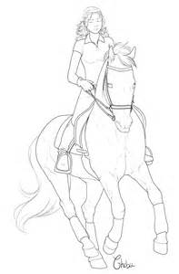 free lineart by bh stables on deviantart
