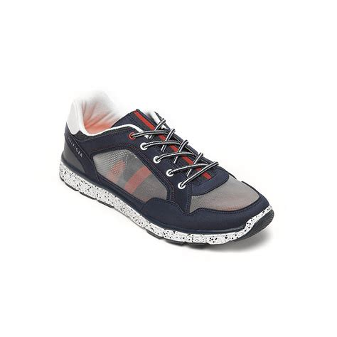 hilfiger athletic shoes hilfiger athletic running shoe in blue th navy