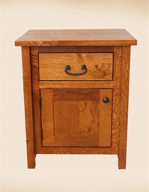 Country Mission Nightstand Amish Crafted - oakwood furniture amish furniture in daytona