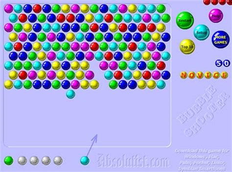Bubble Shooter Play the popular bubbleshooter game