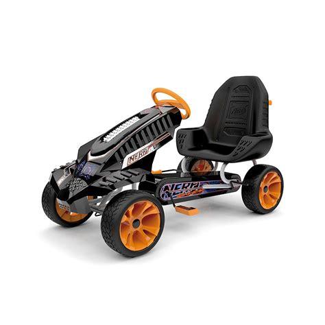 nerf battle racer carrinho de batalha kart hauck nerf battle racer ride on