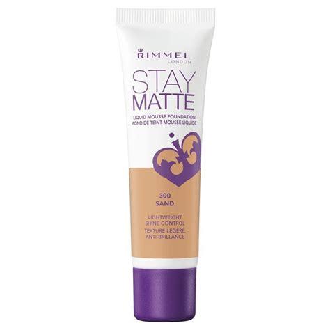 Rimmel Stay Matte Foundation rimmel stay matte foundation sand chemist warehouse