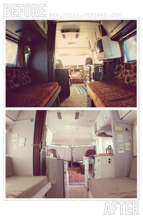 before after pictures of the rv renovation we did on our vintage motorhome before and afters rv renovation