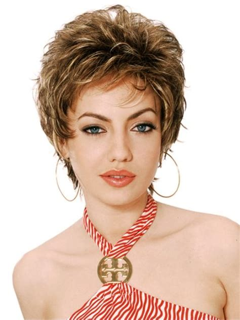 thined out curly short shag 43 best hair styles for short curly hair images on
