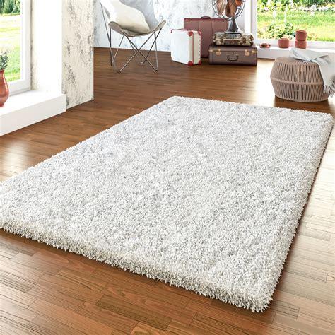 teppich shaggy shaggy teppich modern hochflor uni wohnzimmer kuschelig