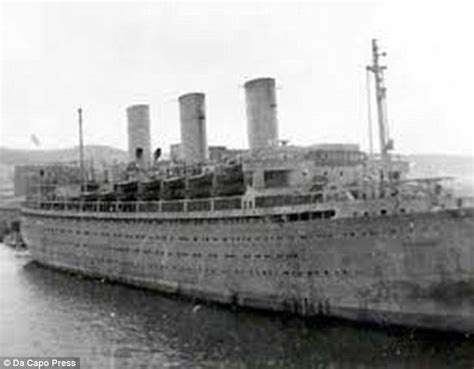 sinking boat put in bay how the german titanic cap arcona was transformed by
