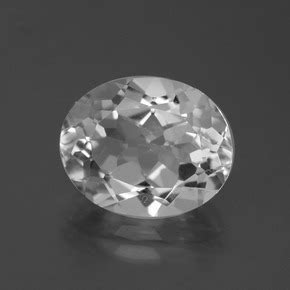 White Brazil Topaz Oval white topaz 5 5 carat oval from brazil and