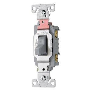 eaton 20 pole premium toggle switch gray