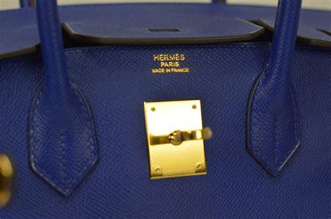 Hermes Birkin 1068 2014 herm 200 s birkin bag 30cm blue electric color epsom