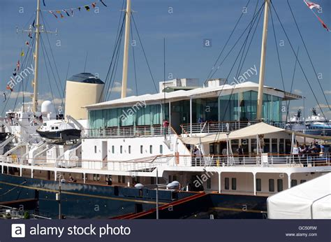 yacht britannia the royal yacht britannia stock photos the royal yacht