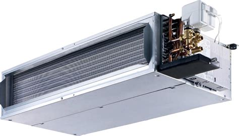 fan coil unit with electric heater 42nl 42nh hydronic ducted fan coil units ahi carrier
