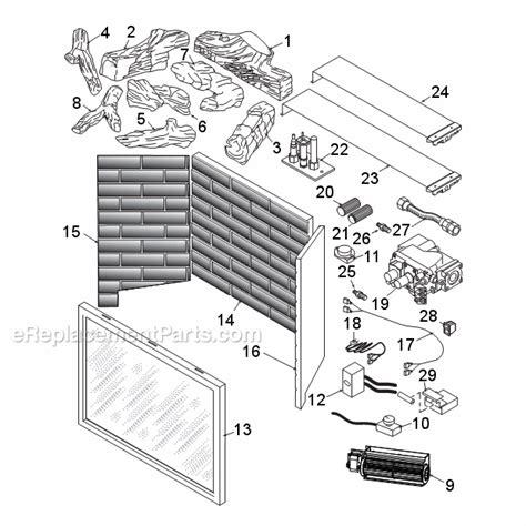 monessen lx32dv parts list and diagram ereplacementparts