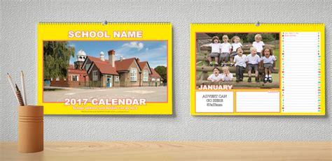 design school calendar colourful landscape calendar design lb
