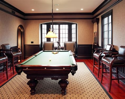 how to decorate a room with a pool table manor pool table