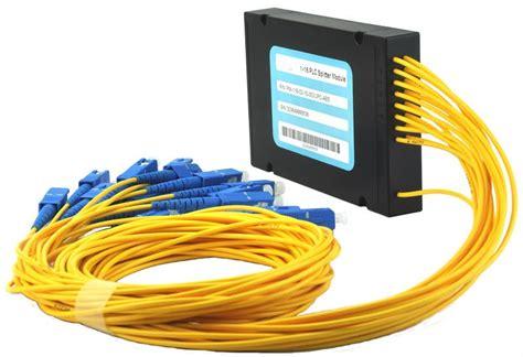 Fiber Optic Passive Splitter 1x2 With Modulebox 1 16 plc fiber optical splitter box buy 1 16 plc fiber optical splitter box fiber optic