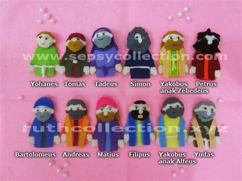 Boneka Jari Set jual set boneka jari murid yesus sepsy collection