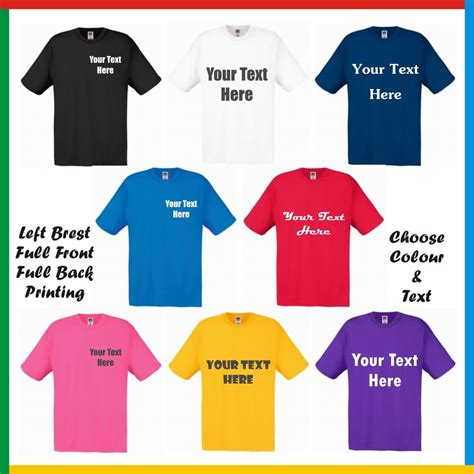 create your own custom printed t shirt white any design personalised printed t shirts design your own t shirt