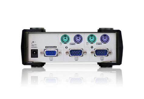 Kvm Switch 2 Port Ps 2 jual aten kvm switch ps 2 2 port cs82a alta99