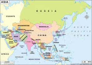 map of asian countries k u l n o v a