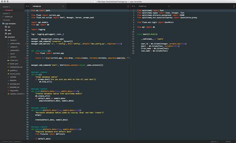 tomorrow theme sublime text 3 material color scheme packages package control