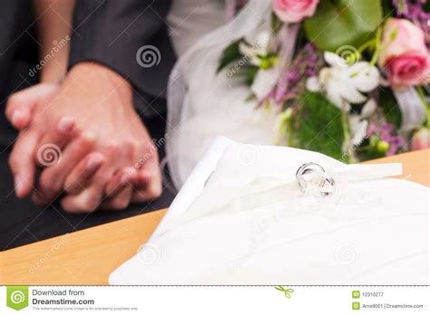 Wedding Ceremony No Rings by Wedding Ceremony And Rings Royalty Free Stock