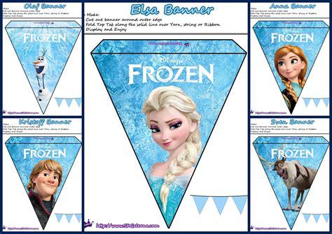 printable frozen images frozen lindos banderines para imprimir gratis ideas y