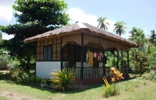 bahay kubo design homestay in samal island philippines samal bahay kubo
