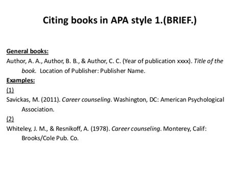 book reference apa two authors cite articles books in apa style briefbw