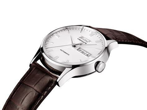 Tissot T0872075611700 Titanium Automatic Brown Silver tissot visodate t019 430 16 031 01 mens anytime