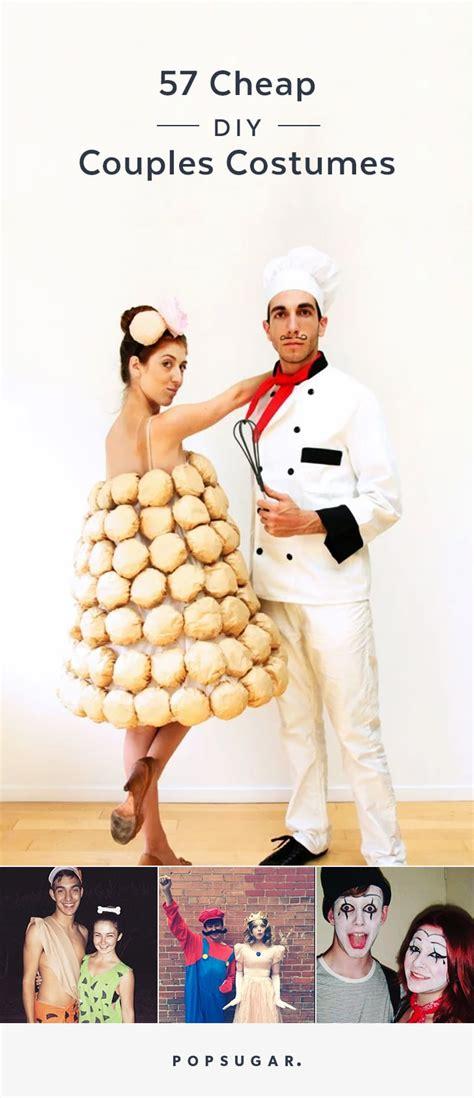 pin  cheap diy couples halloween costumes popsugar