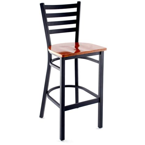 Ladder Back Bar Stool Ladder Back Metal Bar Stool
