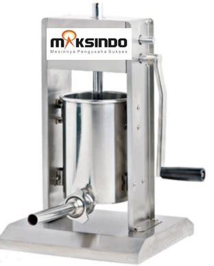 Alat Pengisi Sosis Mesin Pencetak Sosis Manual Bahan Stainless Ste mesin pembuat sosis dan pencetak sosis terbaru toko