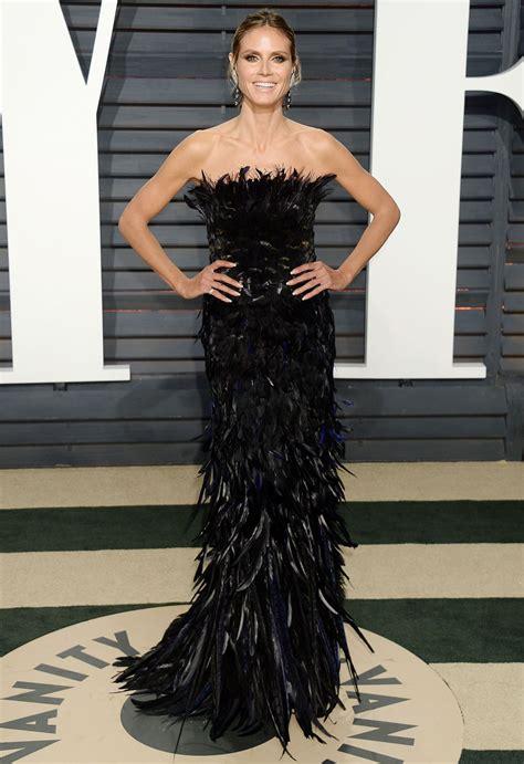 Vanity Los Angeles Heidi Klum At Vanity Fair Oscar 2017 In Los Angeles
