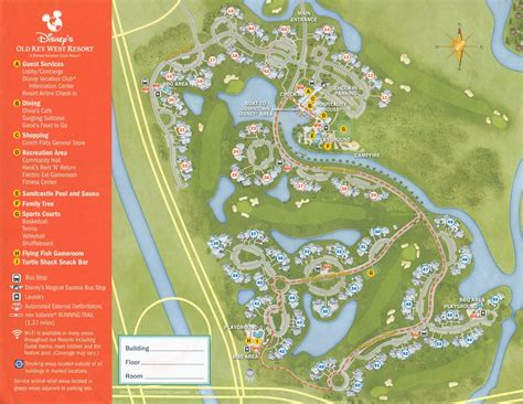 dvc map key west resort map 2 dvc welcome home