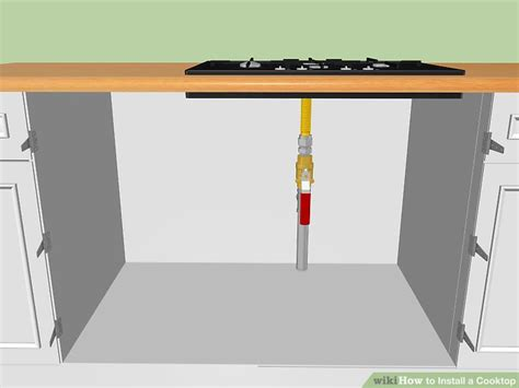 Kompor Gas Almond 3 ways to install a cooktop wikihow