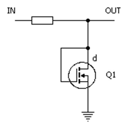 mosfet without diode amz guitar effects diode clipping