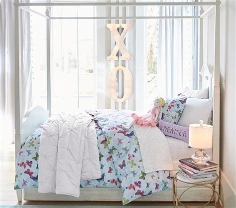 madeline canopy bed pottery barn