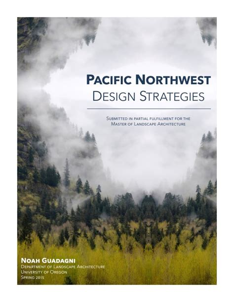 Pacific Northwest Design | pacific northwest design strategies by noah guadagni