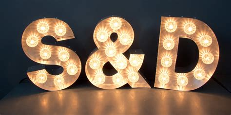 light up letters signs for homes illuminated signs light up letters large marquee letters