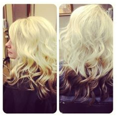 midlength blonde reverse ombre hair on pinterest ombre medium length hairs and blondes