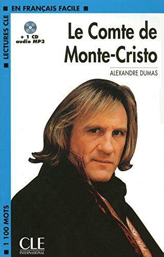 le comte de monte cristo 2070405370 libro le comte de monte cristo 1cd audio mp3 di alexandre dumas