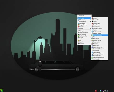 themes for emerge desktop emerge desktop v6 1 3 with transparent tray by