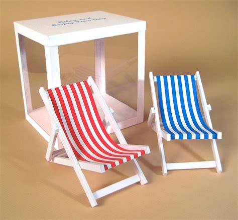 deck chair template a4 card templates for 3d deck chair display box