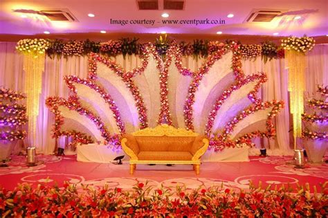 engagement flower decorations at halls in chennai