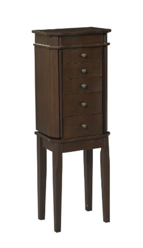 floor standing jewelry armoire floor standing jewelry boxes