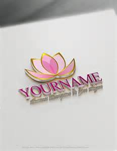 Lotus Flower Logo Create A Logo Free Lotus Flower Logo Templates Free