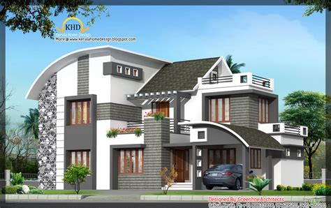 contemporary home design plans modern house plans in kerala style so replica houses