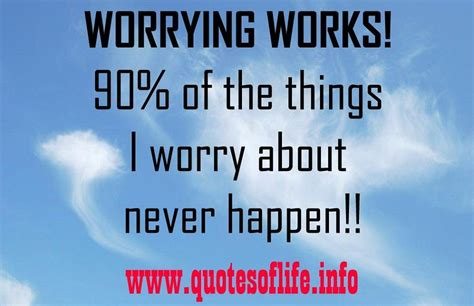 worrying works      worry