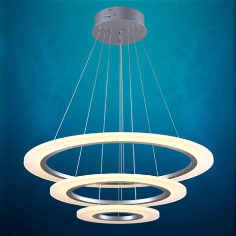 Sale Lu Led Projie Kotak three circles modern led light ilumisense touch of modern